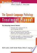 The Speech and Language Pathology Treatment Planner