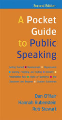 A Pocket Guide To Public Speaking Book PDF