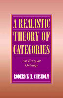 A Realistic Theory of Categories