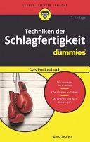 Techniken der Schlagfertigkeit fÃ1⁄4r Dummies Das Pocketbuch