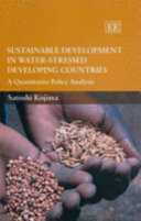 Sustainable Development in Water stressed Developing Countries