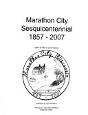 Marathon City Sesquicentennial  1857 2007