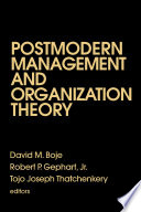 Postmodern Management And Organization Theory
