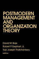 Pdf Postmodern Management and Organization Theory