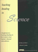 Teaching Reading in Science