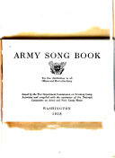Army Song Book