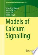 Models of Calcium Signalling Book