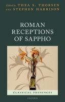 Pdf Roman Receptions of Sappho