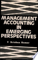Management Accounting in Emerging Perspectives