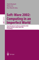 Soft Ware 2002  Computing in an Imperfect World