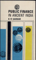 Public Finance in Ancient India