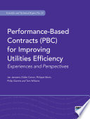 Performance Based Contracts Pbc For Improving Utilities Efficiency
