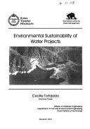 Environmental Sustainability of Water Projects