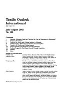 Textile Outlook International Book PDF