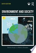 Environment and Society Book