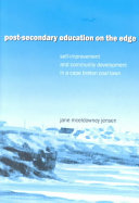 Post secondary Education on the Edge Book