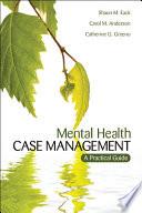 Mental Health Case Management Book