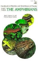 Handbook of Reptiles and Amphibians of Florida
