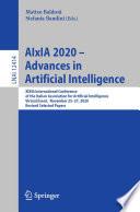 AIxIA 2020   Advances in Artificial Intelligence