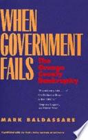 When Government Fails