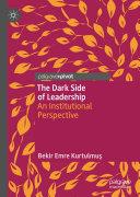 The Dark Side of Leadership Pdf/ePub eBook