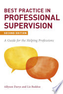 Best Practice in Professional Supervision  Second Edition