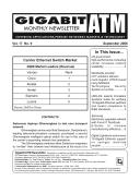 Gigabit/ATM Monthly Newsletter