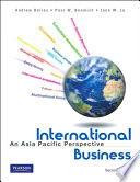 """International Business: An Asia Pacific Perspective"" by Andrew Delios"