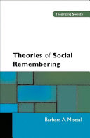 Theories of Social Remembering Book