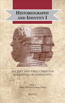 Historiography and Identity I