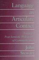 Cover of Language as Articulate Contact
