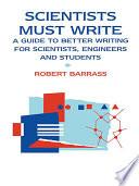 Scientists Must Write
