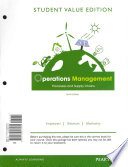 Operations Management with MyOMlab Access Code: Processes and Supply Chains: Student Value Edition