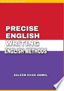PRECISE ENGLISH WRITING   ENGLISH METHOD