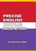 Pdf PRECISE ENGLISH WRITING & ENGLISH METHOD Telecharger