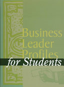 Business Leader Profiles for Students Book PDF