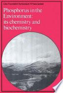 Phosphorus in the Enviroment Book