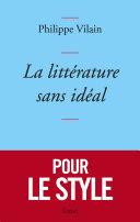 Pdf La littérature sans idéal Telecharger