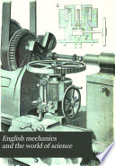 English Mechanics and the World of Science Book PDF