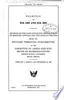 Hearings On H R 6406 And H R 6298