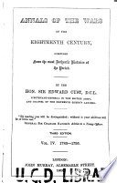 Annals of the wars of the eighteenth century