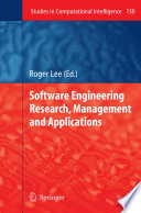 Software Engineering Research  Management and Applications