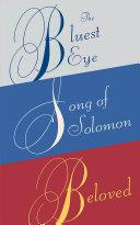 Toni Morrison Box Set  The Bluest Eye  Song of Solomon  Beloved