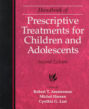 Handbook Of Prescriptive Treatments For Children And Adolescents