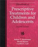 Handbook of Prescriptive Treatments for Children and Adolescents Book