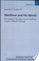 Matthew And His World Book PDF
