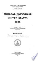 Mineral Resources of the United States Book