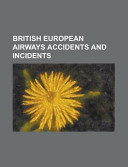 British European Airways Accidents and Incidents