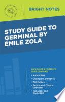 Study Guide to Germinal by Emile Zola Pdf/ePub eBook