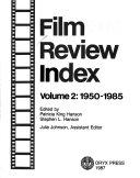 Film Review Index  1950 1985